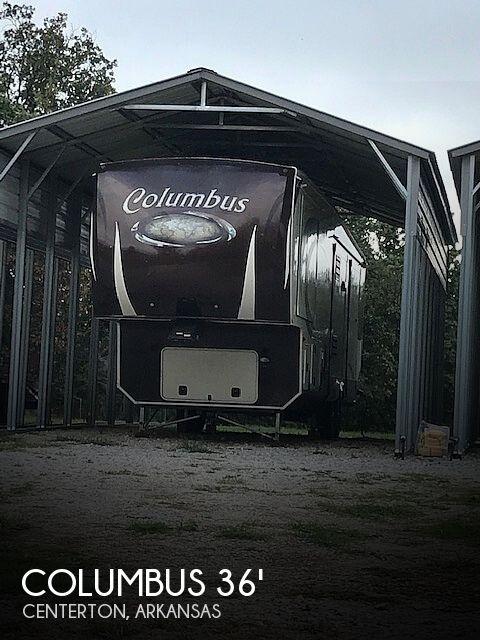 2014 Forest River Columbus 365RL Rear Living