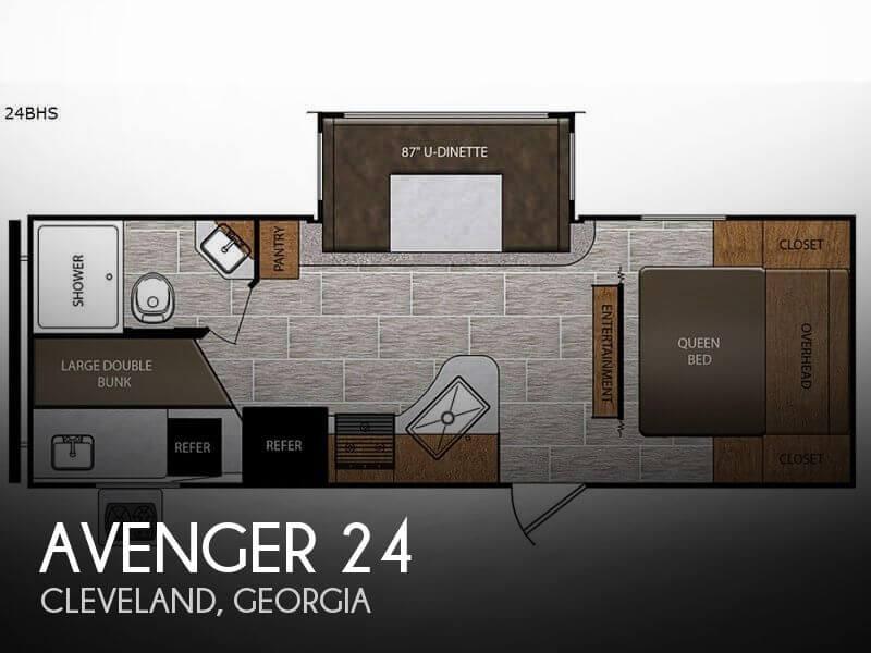 2019 Forest River Avenger 24