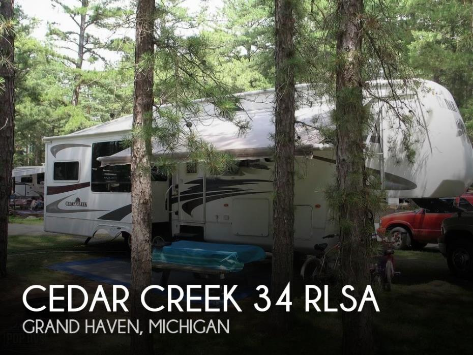 2008 Forest River Cedar Creek 34 RLSA