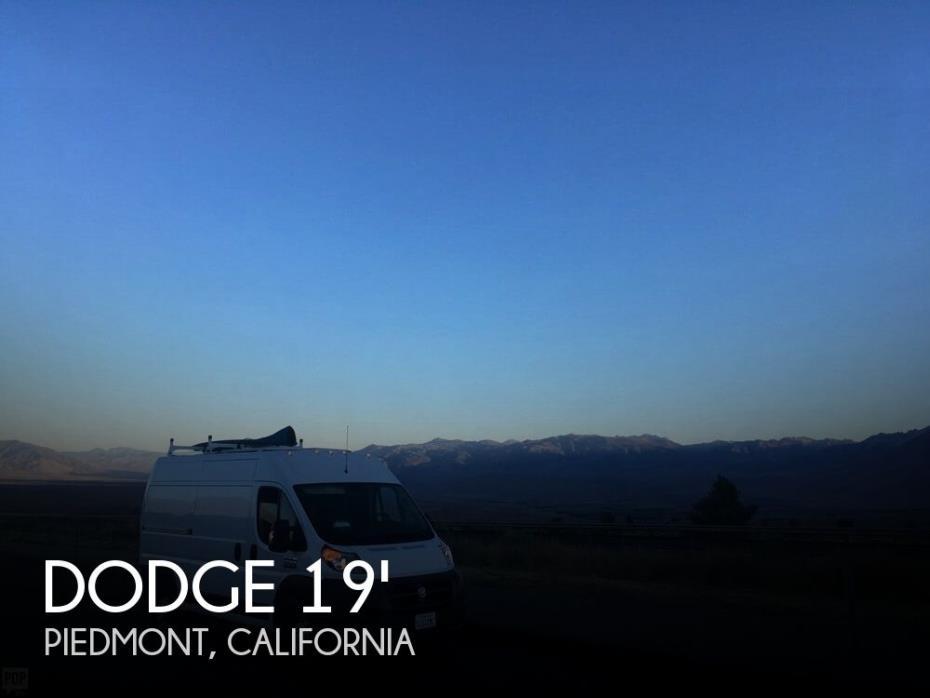 2018 Dodge Dodge Ram Promaster 1500 Custom Conversion Van