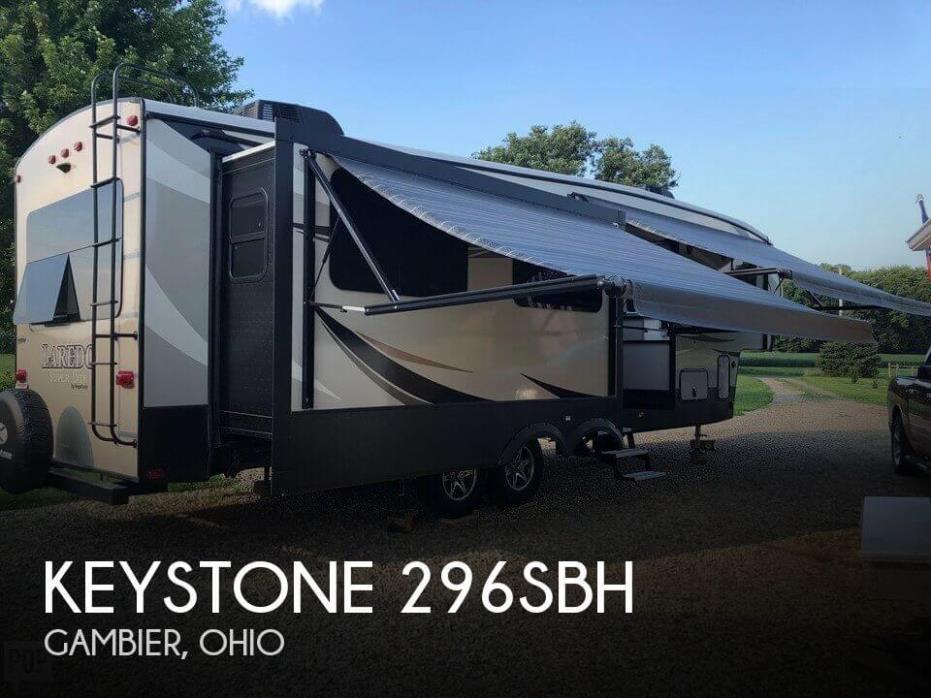 2018 Keystone Keystone 296BHS