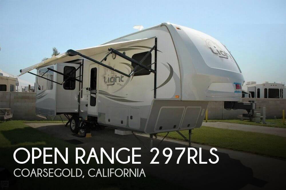 2014 Open Range Open Range 297RLS
