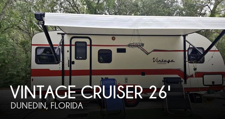 2018 Gulf Stream Vintage Cruiser 23RSS