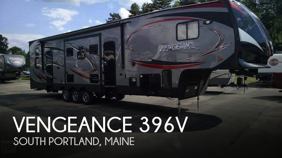 2014 Forest River Vengeance 396V Toy Hauler