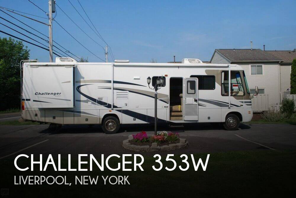 2005 Thor Motor Coach Challenger 353W, 0