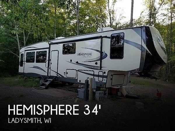 2019 Forest River Hemisphere 34RL