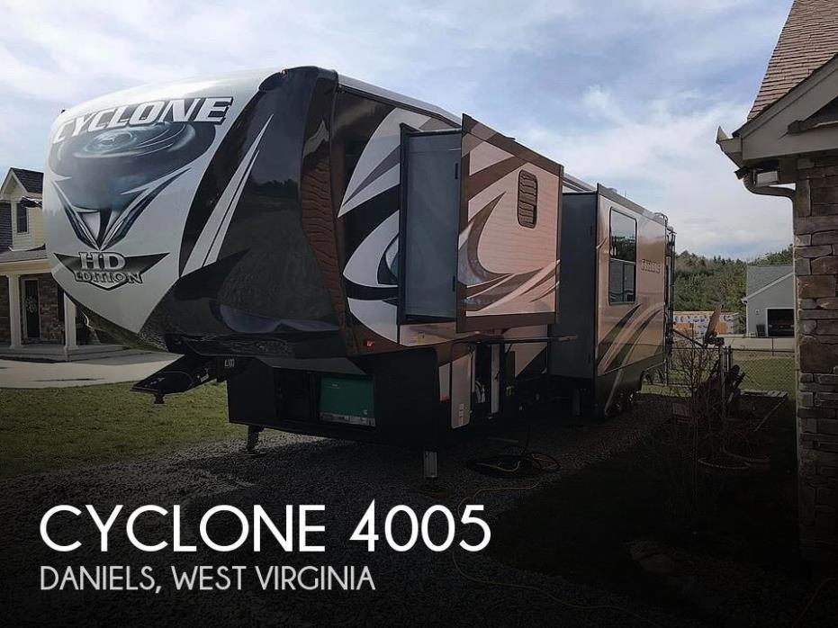 2018 Heartland Cyclone 4005