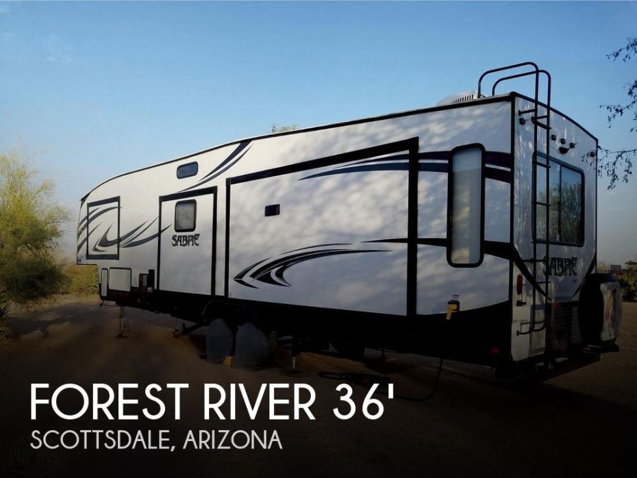 2018 Forest River Forest River Sabre 36BHQ