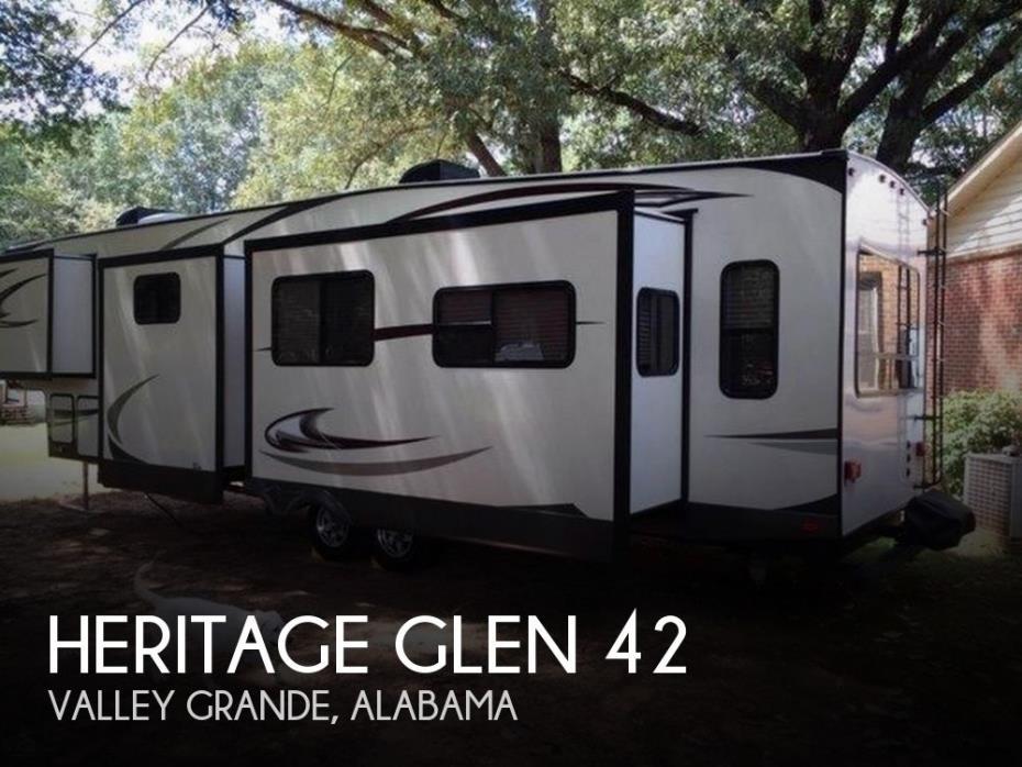 2016 Forest River Heritage Glen 368RLBHK