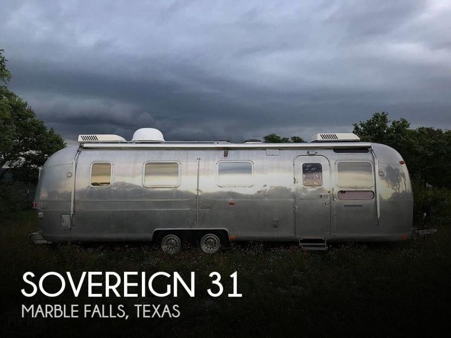 1978 Airstream Sovereign 31CB