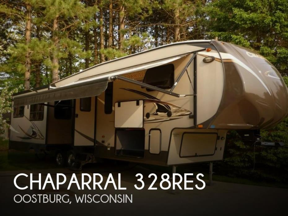 2014 Coachmen Chaparral 328RES