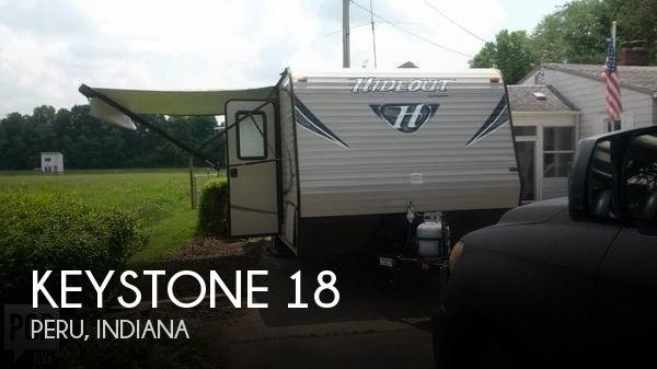 2016 Keystone Keystone 18