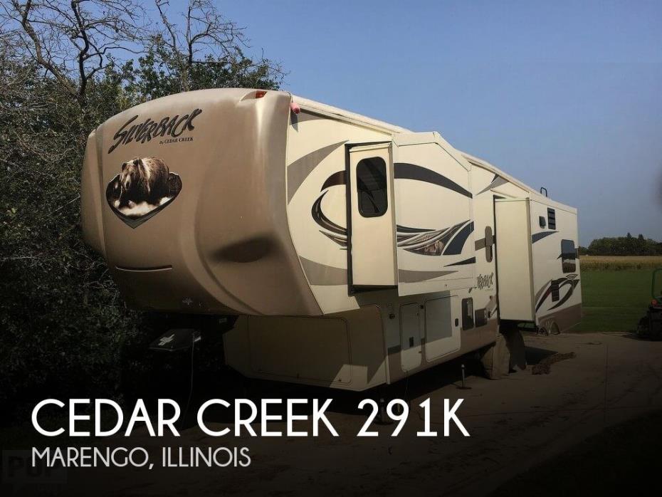 2015 Forest River Cedar Creek Silverback 291K