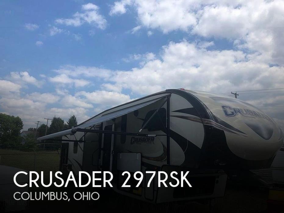 2017 Prime Time Crusader 297RSK