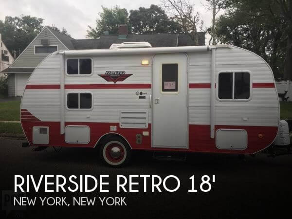 2018 Riverside RV Riverside Retro 181 B