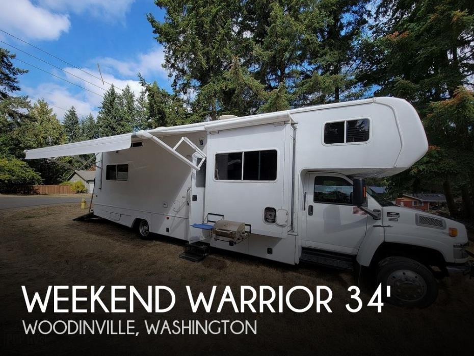 2008 Weekend Warrior Weekend Warrior Road Warrior RWT3400