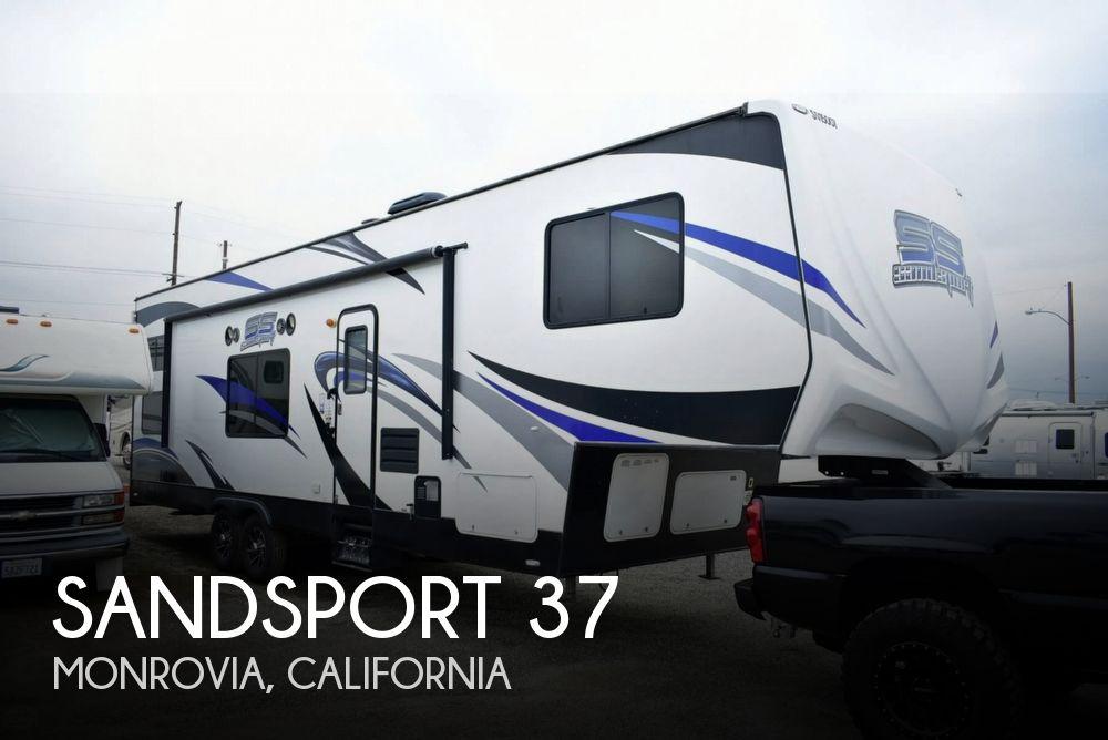 2015 Pacific Coachworks Sandsport F285FS+4 Toy Hauler