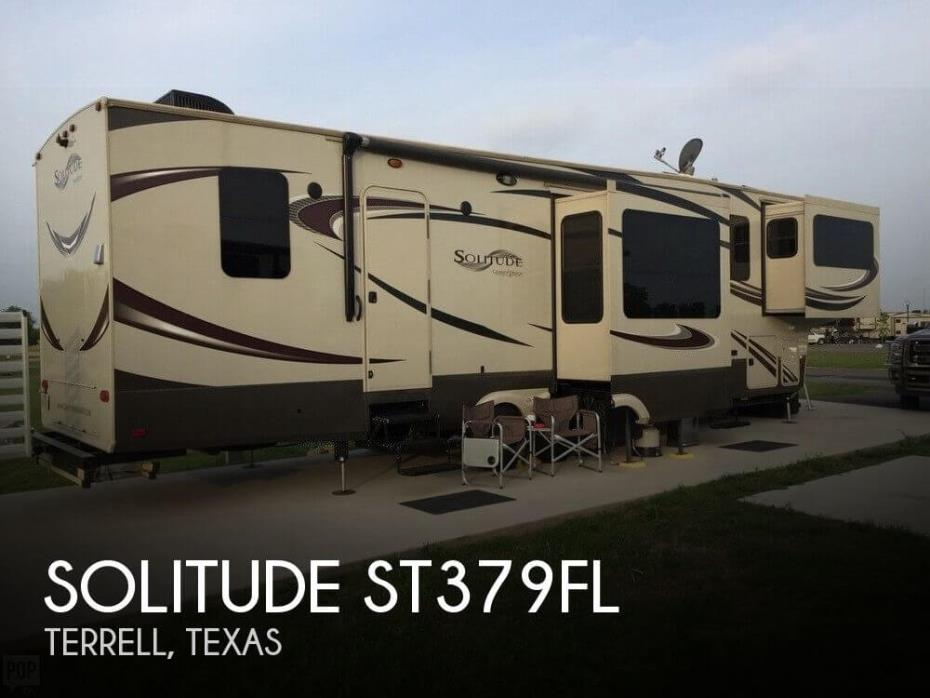 2015 Grand Design Solitude ST379FL