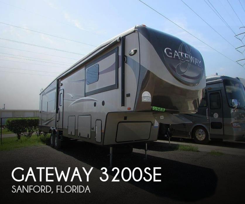 2015 Heartland Gateway 3200SE