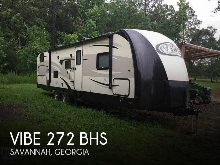 2016 Forest River Vibe 272 BHS
