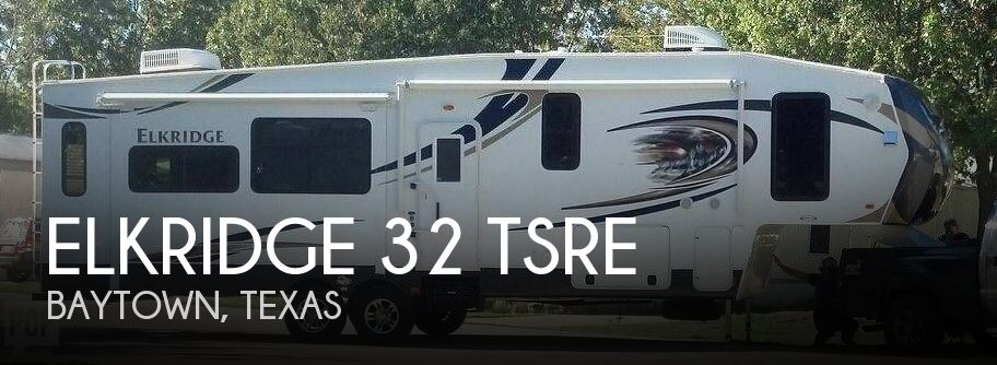 2013 Heartland ElkRidge 32 TSRE