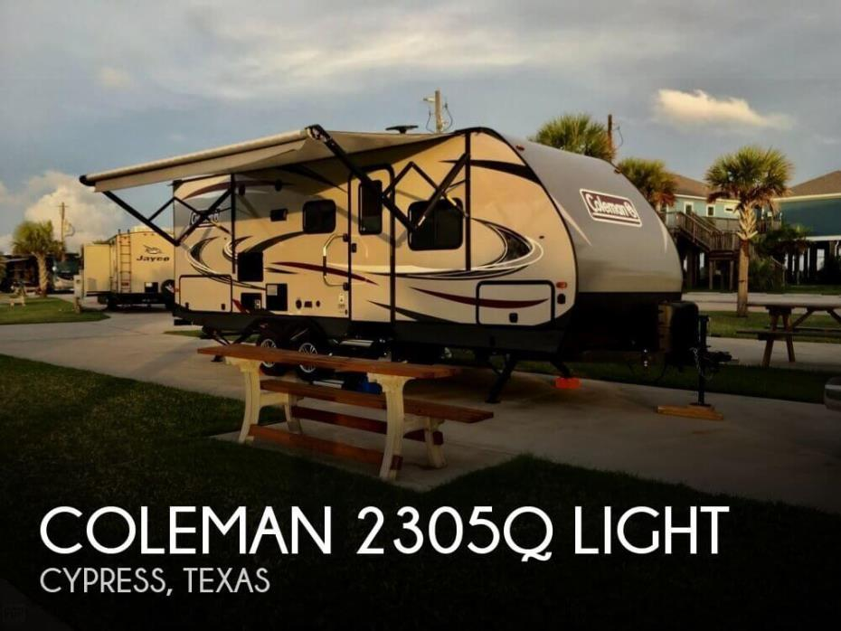 2018 Dutchmen Coleman 2305Q Light