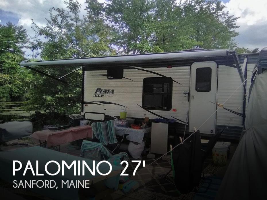 2019 Forest River Palomino Puma 27 FQC
