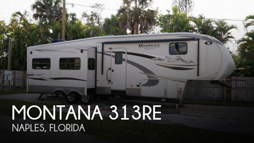 2011 Keystone Montana 313RE