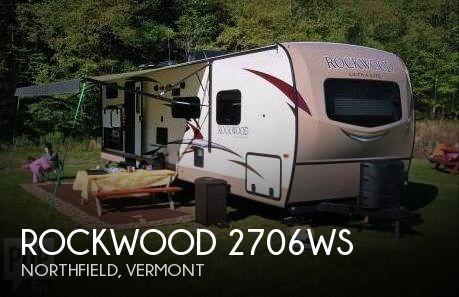 2017 Forest River Rockwood 2706WS