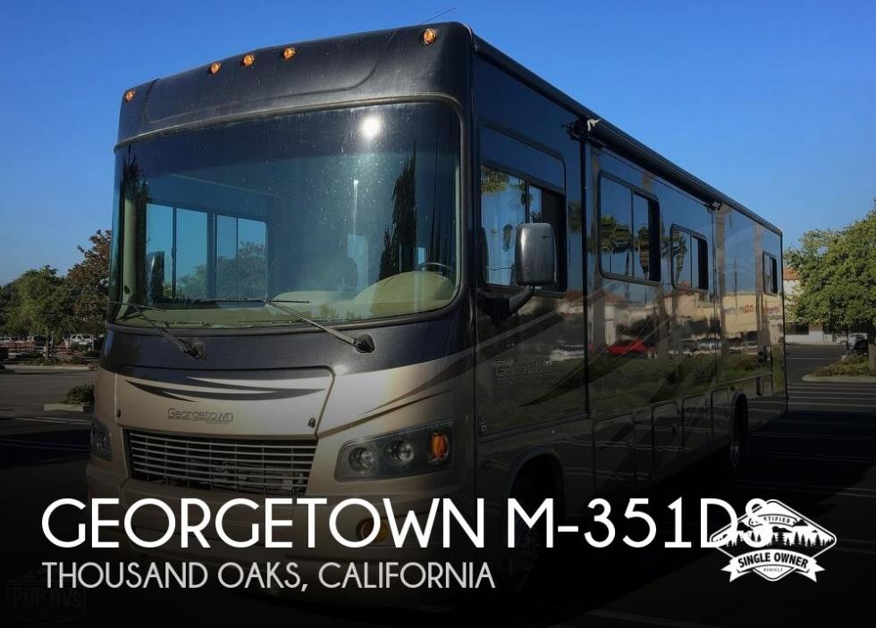 2012 Forest River Georgetown M-351DS
