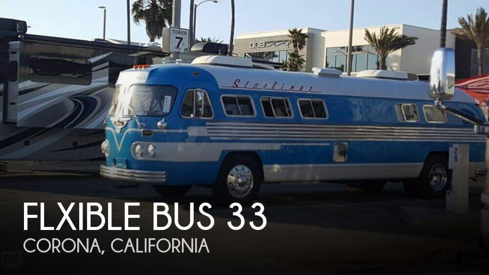 1949 Flxible Bus 33 Starliner
