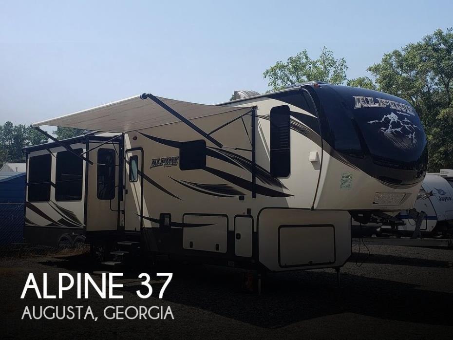 2016 Keystone Alpine 3730RE