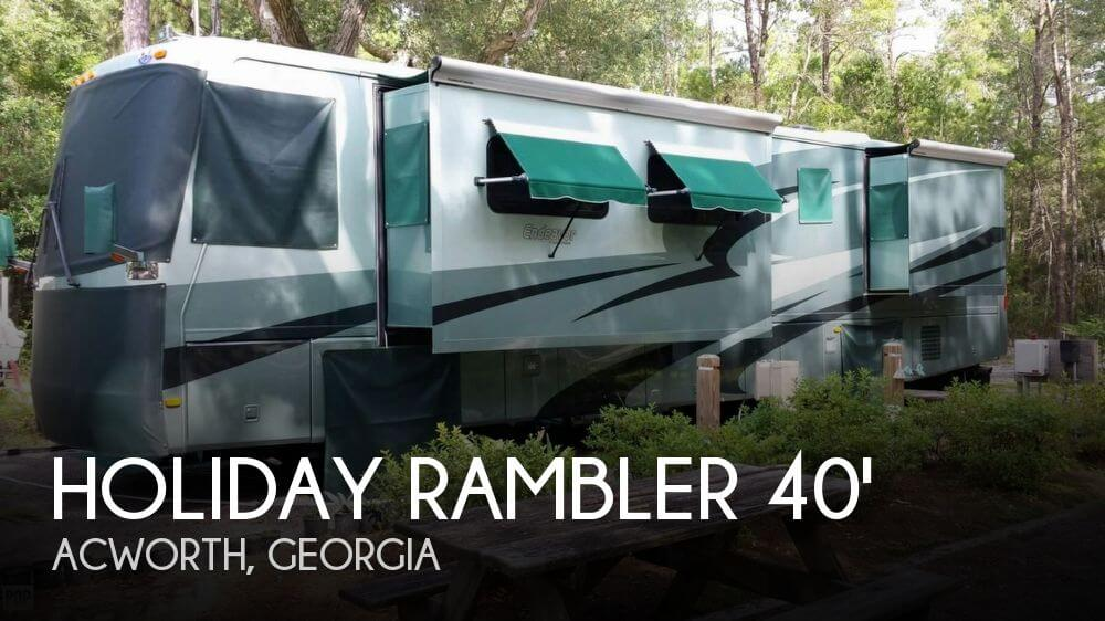 2004 Holiday Rambler Holiday Rambler 40 PDQ