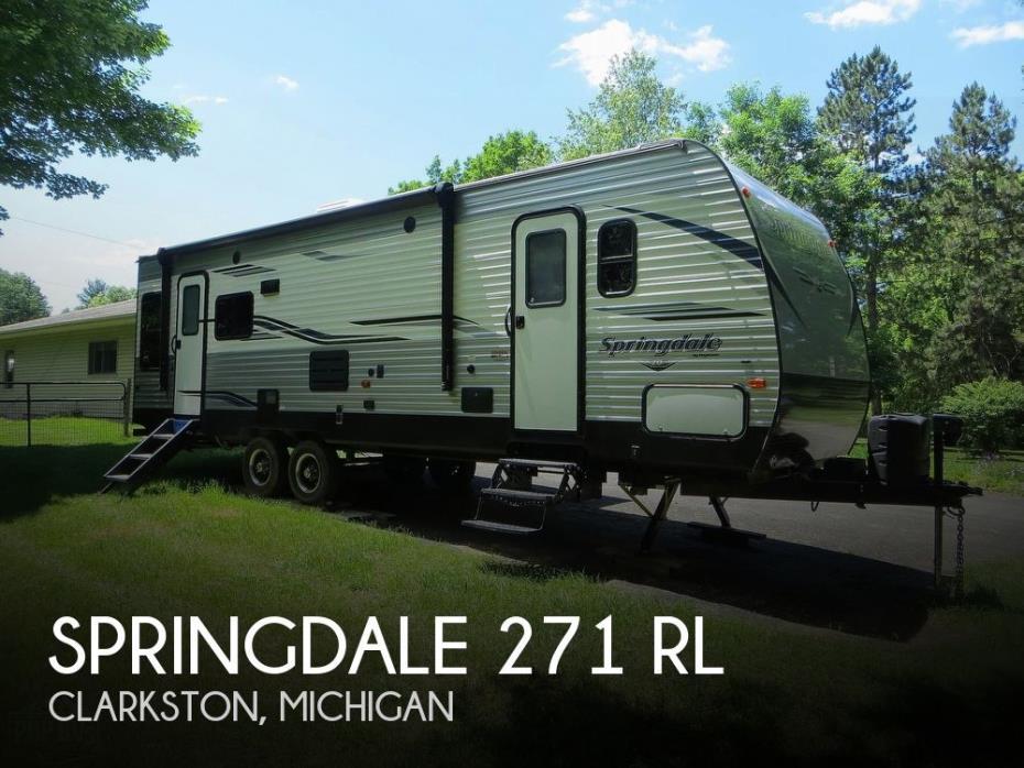 2019 Keystone Springdale 271RL