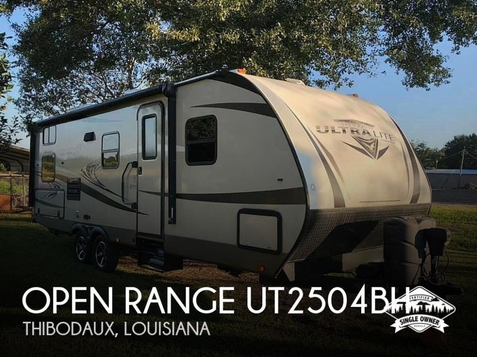 2017 Highland Ridge Open Range UT2504BH