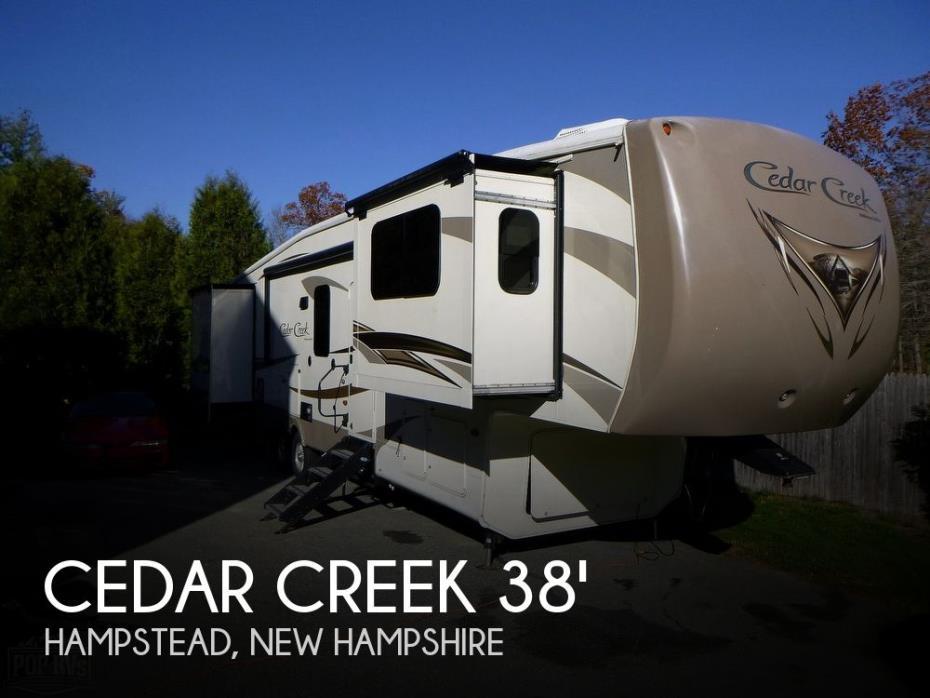 2015 Forest River Cedar Creek Hathaway Edition 38FL