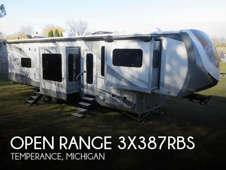 2017 Highland Ridge Open Range 3X387RBS