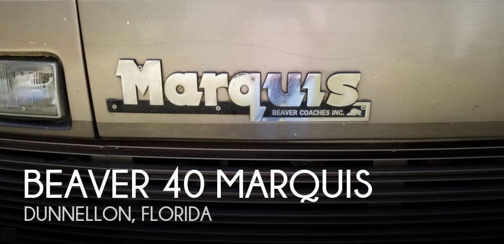1990 Monaco Beaver 40 Marquis