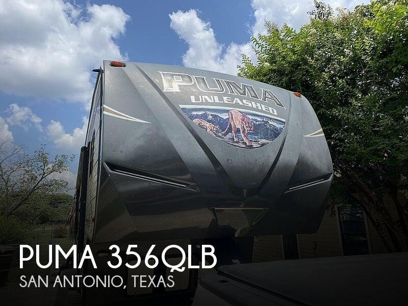 2017 Palomino Puma 356QLB