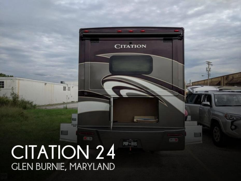 2016 Thor Motor Coach Citation 24SR