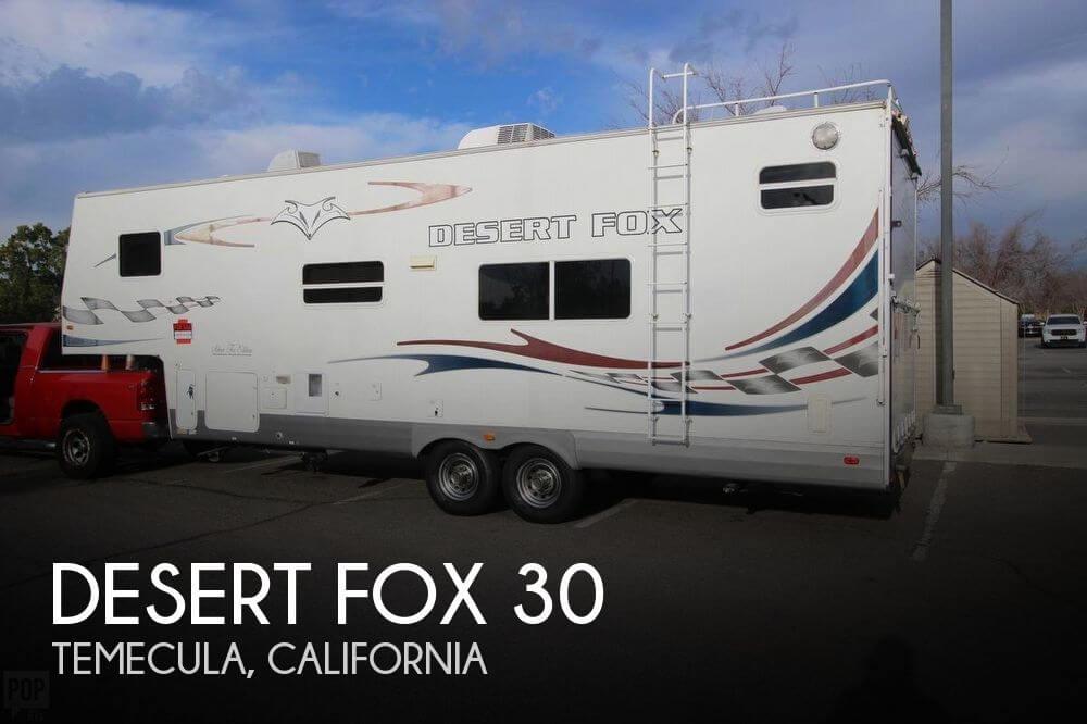 2008 Northwood Desert Fox 30 5J