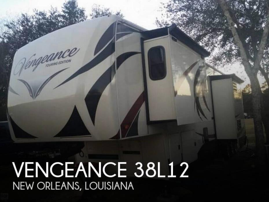 2015 Forest River Vengeance 38L12