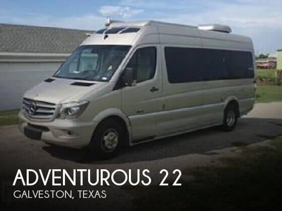 2016 Roadtrek Adventurous 22CS