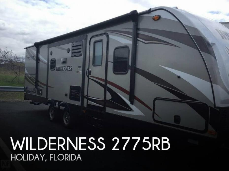 2016 Heartland Wilderness 2775RB, 0