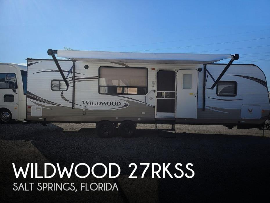 2015 Forest River Wildwood 27RKSS