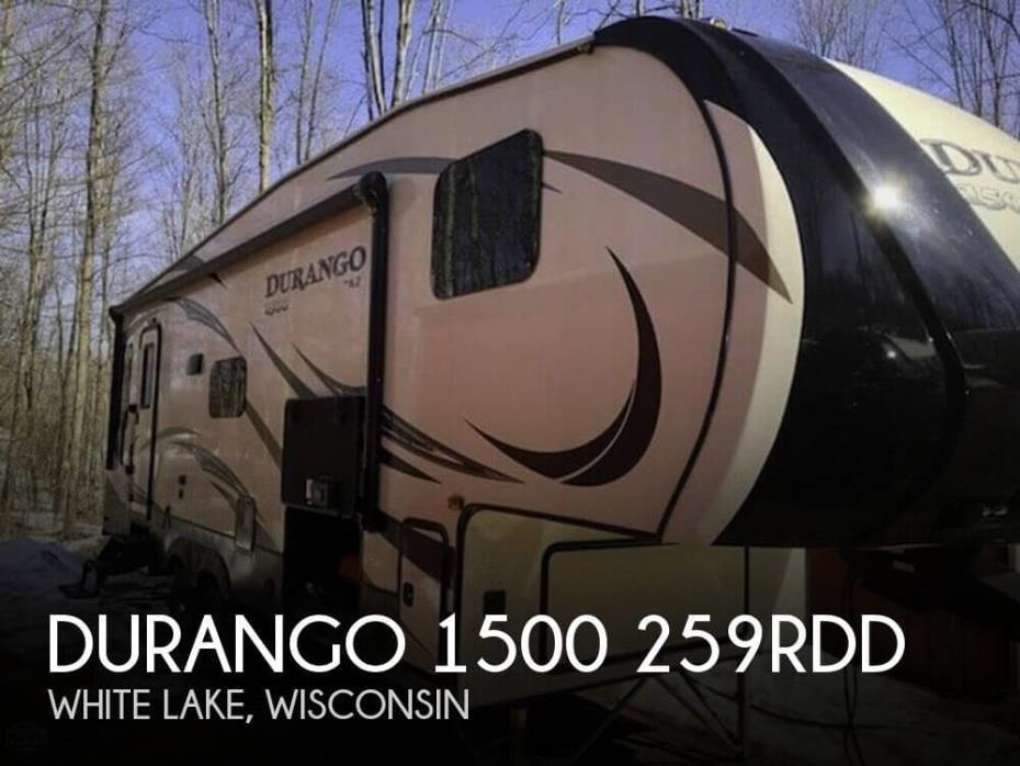 2018 KZ Durango 1500 259RDD
