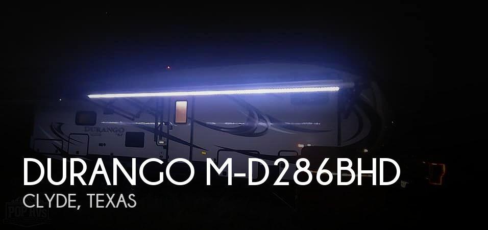2017 KZ Durango 1500 D286BHD