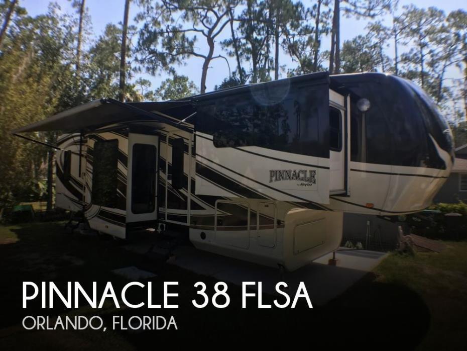 2015 Jayco Pinnacle 38 FLSA