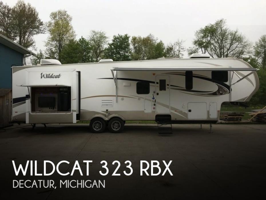 2016 Forest River Wildcat 323 RBX