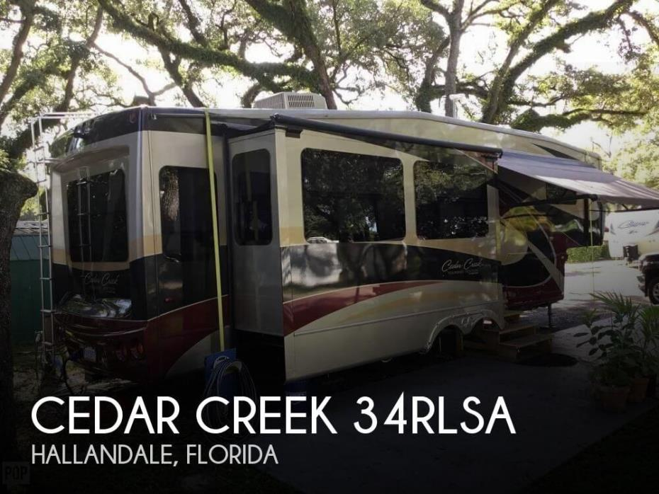 2011 Forest River Cedar Creek 34RLSA